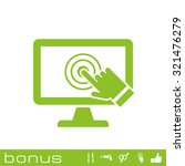 pc screen touch icon