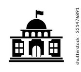 government icon | Shutterstock .eps vector #321476891