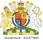 royal coat of arms. vector...
