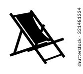 Beach Chair Icon   Beach Chaise ...