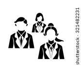 business group of people icon | Shutterstock .eps vector #321482231