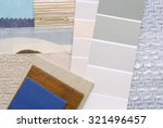 selection color for interior | Shutterstock . vector #321496457