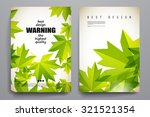 set of brochure  poster... | Shutterstock .eps vector #321521354