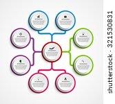 infographic design organization ... | Shutterstock .eps vector #321530831