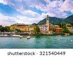 Cernobbio Town In Como Lake...