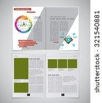layout magazine. editable vector | Shutterstock .eps vector #321540881