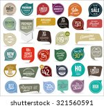 premium  quality modern labels... | Shutterstock .eps vector #321560591