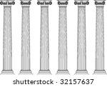 classic pillars | Shutterstock .eps vector #32157637