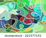 abstract geometric mosaic... | Shutterstock .eps vector #321577151
