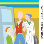 senior citizen | Shutterstock .eps vector #32158291