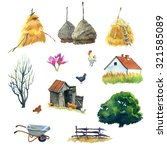 Set Of Watercolour Pictures...