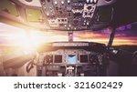 Aircraft Interior  Cockpit Vie...