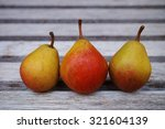 Three Small Pears In A Row
