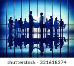 business people meeting... | Shutterstock . vector #321618374