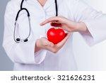 heart doctor. | Shutterstock . vector #321626231
