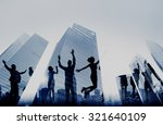 business people success... | Shutterstock . vector #321640109