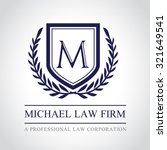 law firm law office  lawyer... | Shutterstock .eps vector #321649541