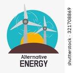 eco green energy design  vector ... | Shutterstock .eps vector #321708869
