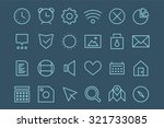 outline vector ui user...