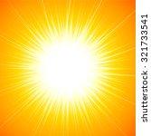 beautiful abstract star burst... | Shutterstock .eps vector #321733541