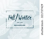 Fall Winter Sale Poster With...