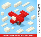 the best modular solutions ads. ... | Shutterstock .eps vector #321746771