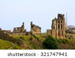 tynemouth   15 june   ruins of... | Shutterstock . vector #321747941
