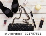 women's clothes and accessories | Shutterstock . vector #321757511