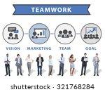 business people digital device... | Shutterstock . vector #321768284