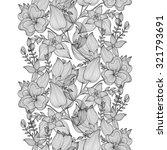 elegant seamless pattern with... | Shutterstock .eps vector #321793691