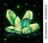 crystals icon vector game...