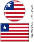 liberian round and square icon... | Shutterstock . vector #321854981