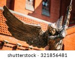 Statue Of Archangel Michael...