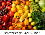 Colorful Fruits And Vegetables...