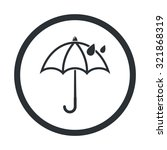 vector illustartion of weather... | Shutterstock .eps vector #321868319