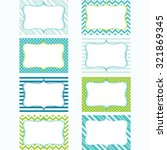printable labels set.tags.... | Shutterstock .eps vector #321869345