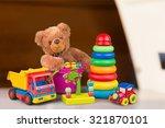 kid toys. | Shutterstock . vector #321870101
