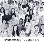 ethnicity diversity ethnic... | Shutterstock . vector #321884471