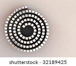 chrome cubes swirling | Shutterstock . vector #32189425