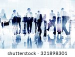 business people corporate... | Shutterstock . vector #321898301
