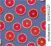 blood orange seamless pattern | Shutterstock .eps vector #321901127