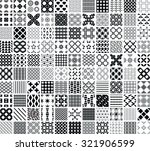 110 seamless geometric patterns ... | Shutterstock .eps vector #321906599