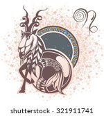 capricorn. zodiac sign | Shutterstock .eps vector #321911741