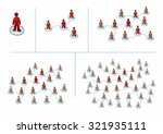 multilevel marketing concept... | Shutterstock .eps vector #321935111