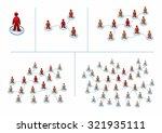 multilevel marketing concept... | Shutterstock .eps vector #321935111