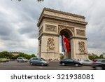 paris  france   july 20  arc de ... | Shutterstock . vector #321938081