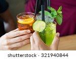closeup shot of friends... | Shutterstock . vector #321940844