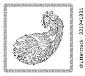 coloring page for children and...   Shutterstock .eps vector #321941831