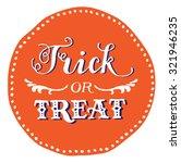 hand drawn vintage halloween...   Shutterstock .eps vector #321946235