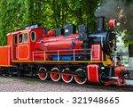 Steam Locomotive With The Smok...